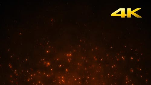 Fire Sparks 4K