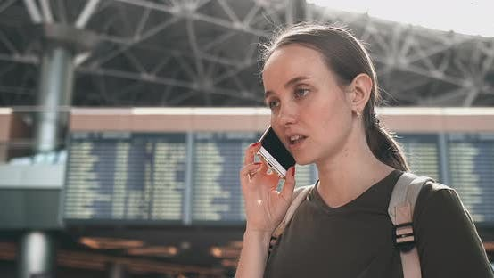 Thumbnail for Talk on the Phone at the Airport