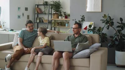 Family With Kid During Lockdown