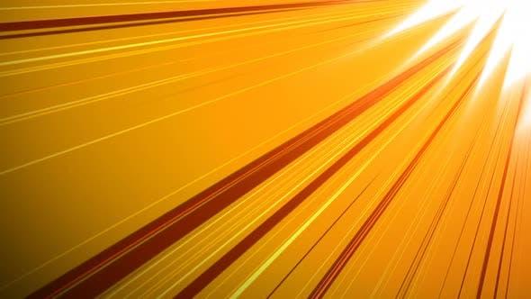 Digitally generated video of light 4k