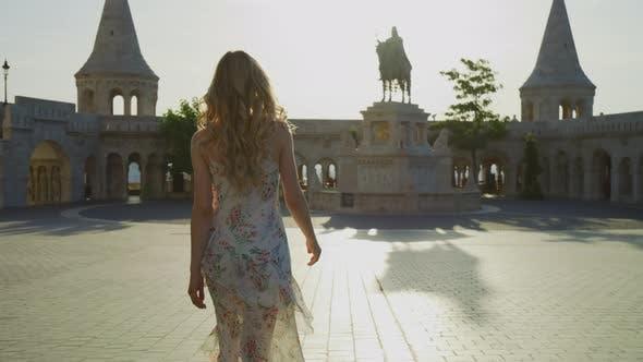 Thumbnail for Walking towards St. Stephen statue