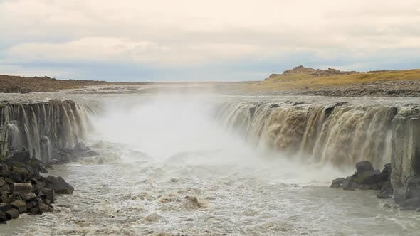 Thumbnail for Waterfall Selfoss in Iceland