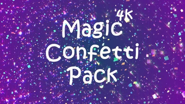 Thumbnail for 4k Magic Confetti Pack