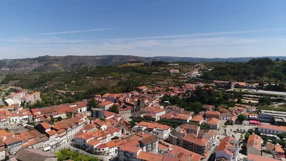 The Beautiful and Historical City of Lamego, Portugal