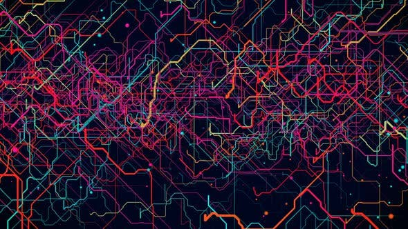 Thumbnail for Digital Map Lines