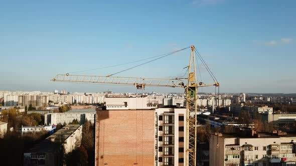 Cover Image for Construction Site with Tower Crane