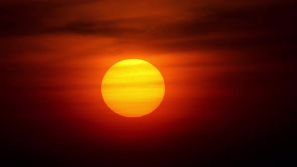 Thumbnail for Sunset Landscape at Phuket, Timelapse