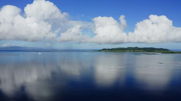 Thumbnail for Clear blue sky and sea in ishigaki island of Japan