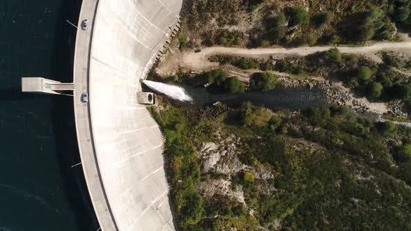 Thumbnail for Car Crossing Beautiful Dam