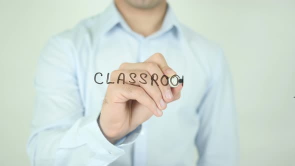 Thumbnail for Classroom, Writing On Screen