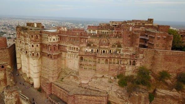 Thumbnail for Mehrangarh Fort in Jodhpur, Rajasthan, India.