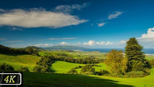 Idyllic Azores Panorama