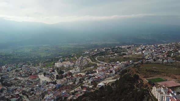 Cover Image for Luftaufnahme von Medina Blue Old City Chefchaouen