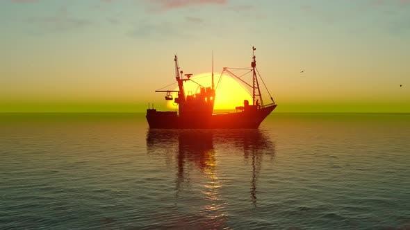 Thumbnail for Sonnenuntergangsschiff