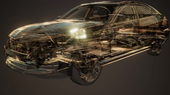 Thumbnail for Car Battery Visible in Car