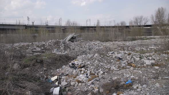 Thumbnail for Panoramic View of Illegal Garbage Dump in the City