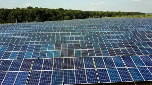 Thumbnail for Solar Panels In Power Station