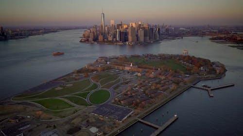 Cityscape of Urban Metropolis City Skyline