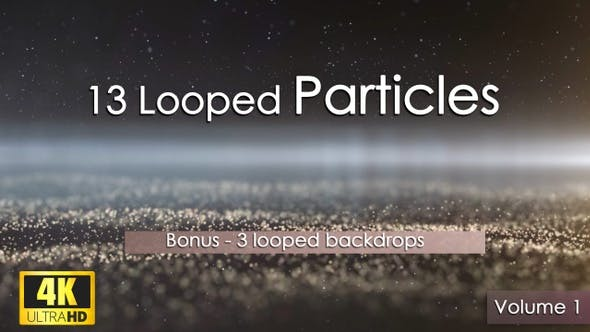 13 Looped Particles 4K