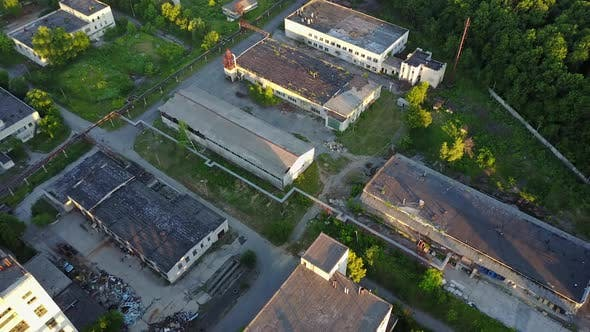 Abandoned Warehouses And Factories