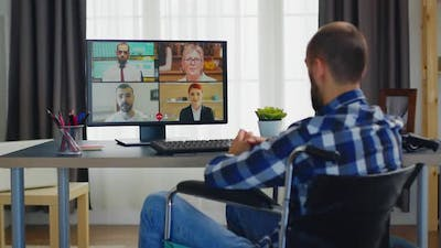 Online Business Video Call