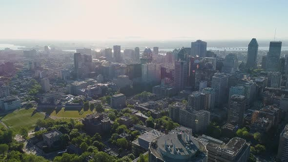 Thumbnail for Aerial view of Montreal