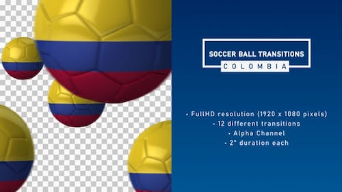 Soccer Ball Transitions - Colombia