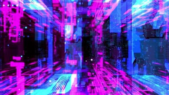 In Machine Network Tunnel 01 4K