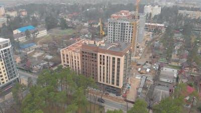Modern Apartment House Construction