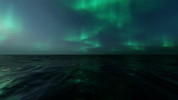 Thumbnail for Aurora On Sea Loopable