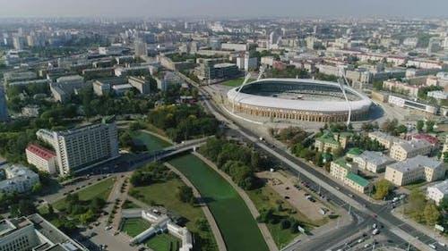 Football Stadium in Minsk City