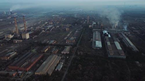 Old Soviet Power Plant