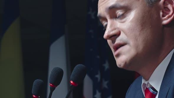 Speech at Political Convention