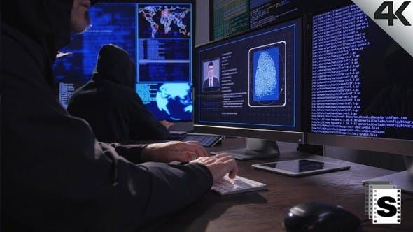 Thumbnail for Hacker Breaking Code