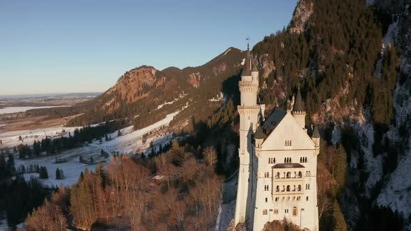 Thumbnail for Neuschwanstein Castle in Bavaria, Germany - Aerial Footage