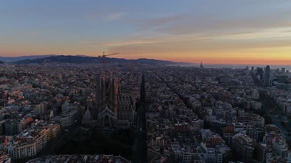 Thumbnail for Sunrise Day in Barcelona