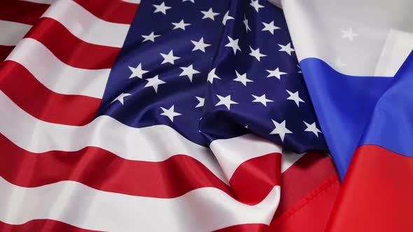 Thumbnail for Usa Flag and Russia Flag