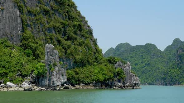 Tropical Islands of Halong Bay Vietnam