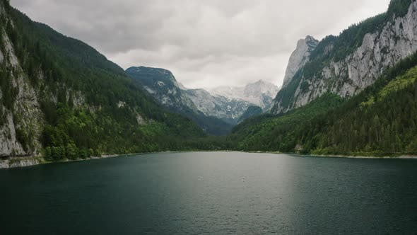 Thumbnail for Picturesque Mountain Lake in the Alps