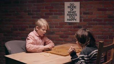 Children Playing Narde