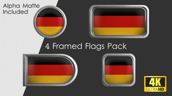 Thumbnail for Framed Germany Flag Pack