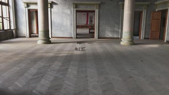 Interior Of Tskaltubo Abandoned Buildings