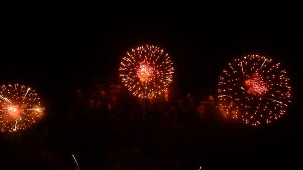 Cover Image for Fireworks Orange Theme