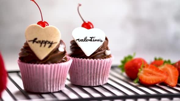 Happy Valentine's Cupcakes