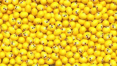 Easter Emoji Transition Wink 4K