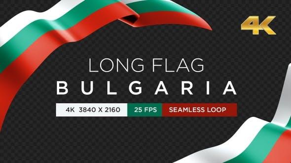 Long Flag Bulgaria