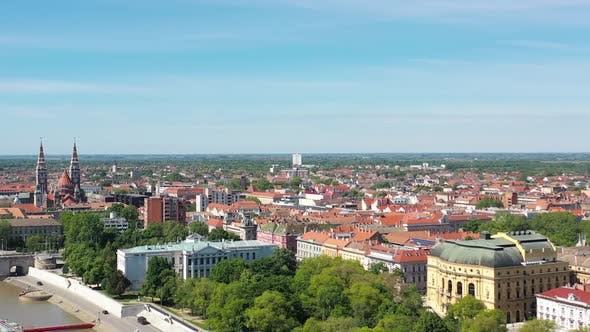 Cover Image for Cityscape of Szeged