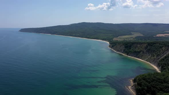 Thumbnail for View of Drone to The Beautiful Coastline