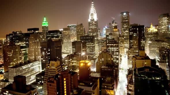 New york manhattan skyline usa