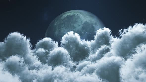 Thumbnail for Earth View Above Cloud To The Moon 01 4K